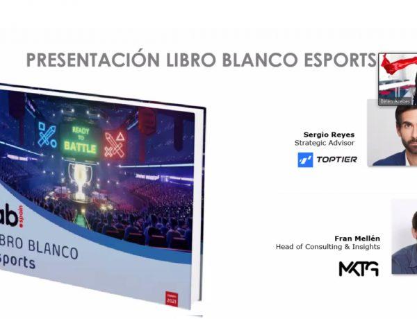 presentacion, libro blanco, esports,iab spain, programapublicidad