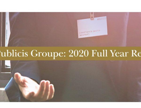 resultados, Publicis, Groupe ,2020, programapublicidad