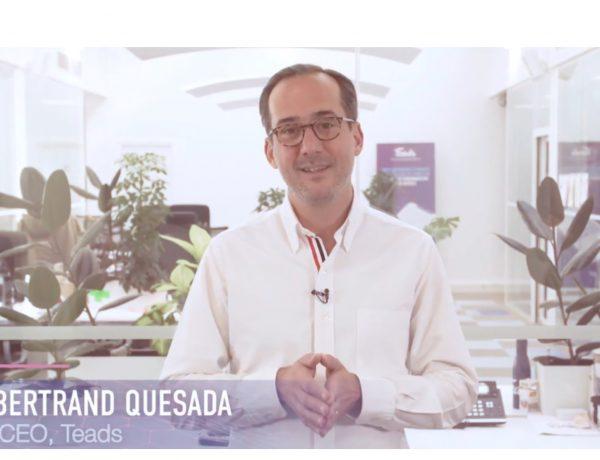 Bertrand Quesada, CEO ,TeadsPartnerDay , programapublicidad