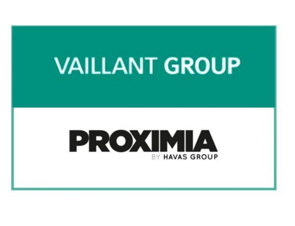 PROXIMIA HAVAS .AGENCIA DE MEDIOS,Vaillant Group , logos, saunier,programapublicidad