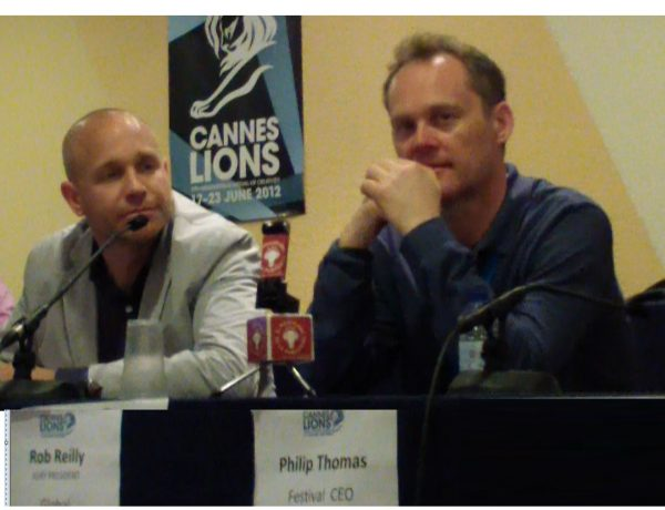 Philip Thomas, rob Reilly,Cannes 2021, programapublicidad