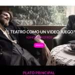 Plató Principal: plataforma española de funcionalidades del videojuego en el teatro en directo