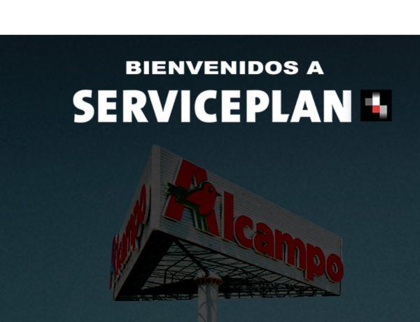 Serviceplan España , gana , alma media, cuenta publicitaria ,Alcampo, auchan, programapublicidad