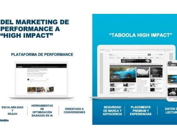 Taboola ,lanza ,Taboola High Impact, solución ,campañas, reconocimiento de marca , agencias ,anunciantes, programapublicidad