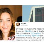 Virginia Zafra de Llera dircom de CaixaBank
