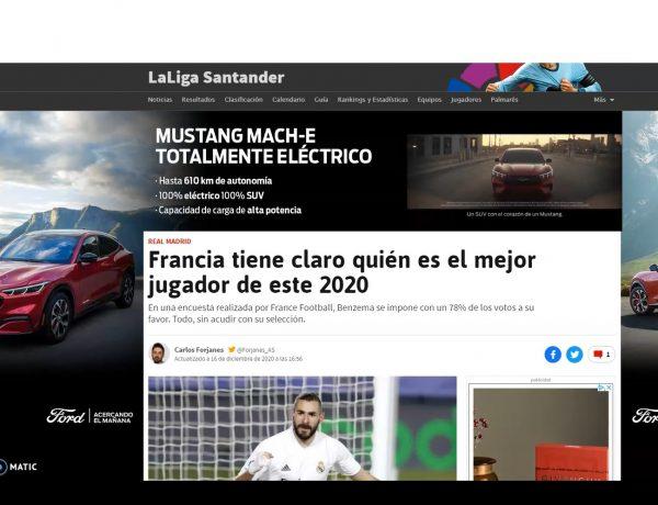 Skintext acuerdo ,Ford ,WeMass ,anunciar ,formato ,Skintext Video ,modelo ,Mustang Mach-E ,programapublicidad
