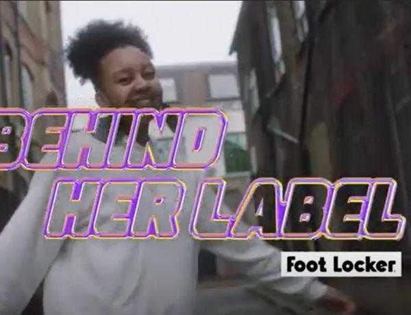 behind her label, foot locker, programapublicidad