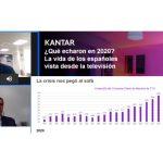 Kantar: 2020. Mayor Consumo de TV de la historia en pandemia . Vimos TV casi 4 horas diarias, 6,7% más