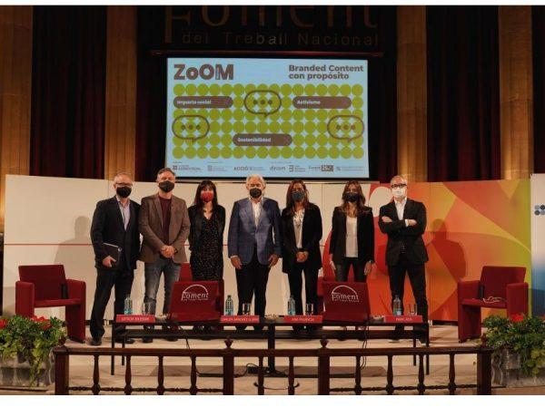 8ª edición ,Zoom Marcas, encuentro ,anual ,Clúster Audiovisual ,Catalunya,programapublicidad