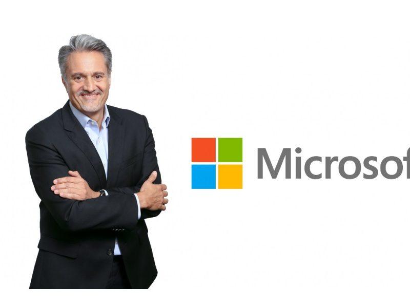 Alberto Granados, presidente , Microsoft España, Pilar López, vicepresidenta ,Microsoft Western Europe, programapublicidad