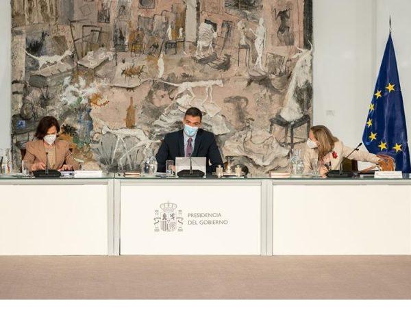 Consejo de Ministros, sanchez, María Jesús Montero, Juan Carlos Campo ,Ione Belarra,programapublicidad