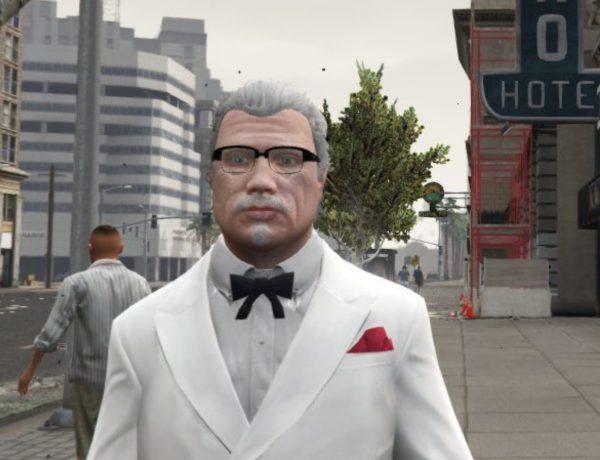 Coronel Sanders ,protagonista ,Marbella Vice, videojuego inspirado , GTA ,ps21, programapublicidad