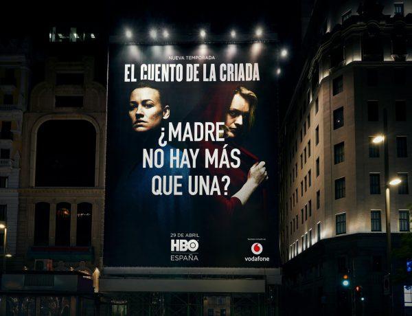 El Cuento ,la Criada, Madres no hay ,más que una , HBO, VODAFONE, programapublicidad