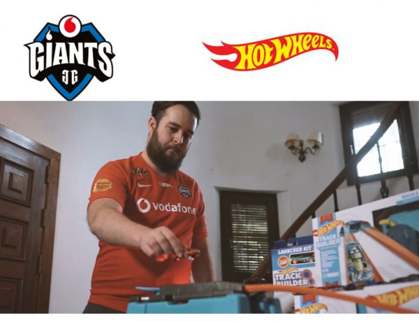 Hot Wheels ,patrocinará , equipo ,Rocket League , Vodafone Giants ,programapublicidad