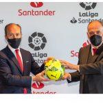 LaLiga y Banco Santander renuevan su acuerdo de colaboración dos años