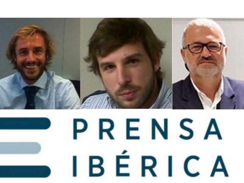 Juan Pedro Díaz Armendariz, Miguel Angel Fernandez,Nacho Azcoitia, Prensa Ibérica, programapublicidad,