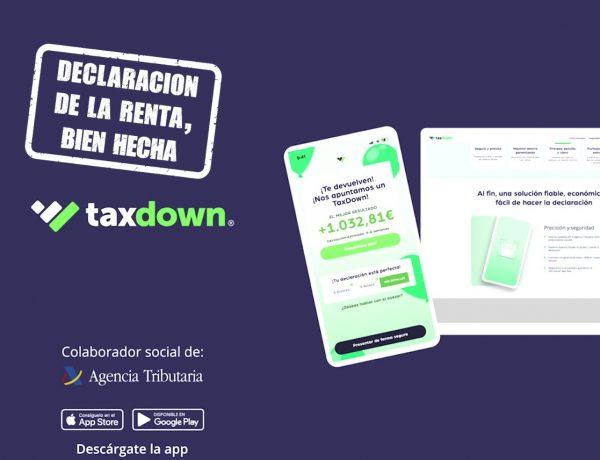 TaxDown ,lanza , spot ,publicitario, hacienda, declaracion, renta, programapublicidad