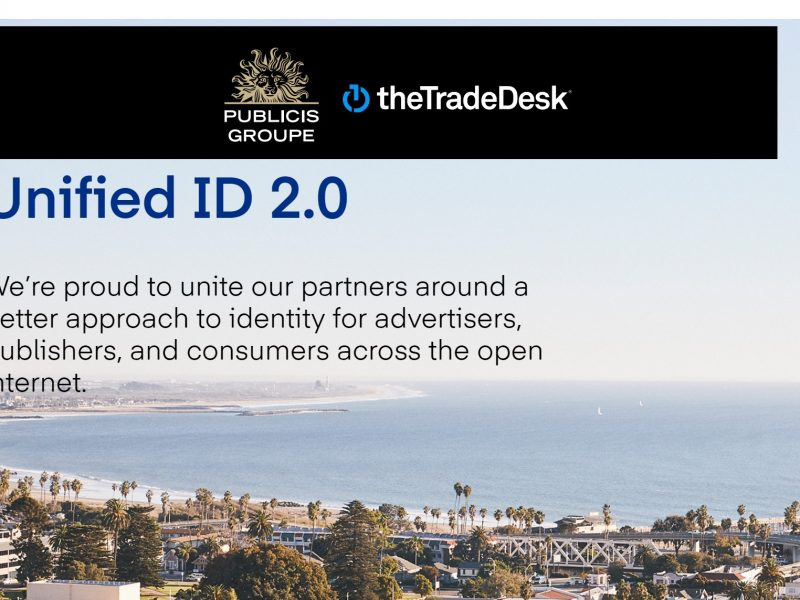 Unified ID Solution 2.0 ,The Trade Desk, publicis groupe,programapublicidad