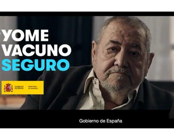 #YOMEVACUNOSEGURO ,jubilado, Contrapunto BBDO ,Ministerio de Sanidad, programapublicidad#YOMEVACUNOSEGURO ,jubilado, Contrapunto BBDO ,Ministerio de Sanidad, programapublicidad