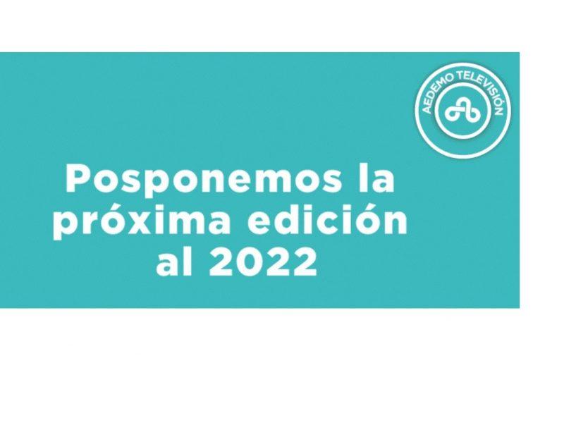 aedemo, pospone ,proxima ,edición , 2022,programapublicidad