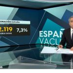 Antena3 Noticias2  lideró el martes con más de 3,4 millones de espectadores y 21,8%