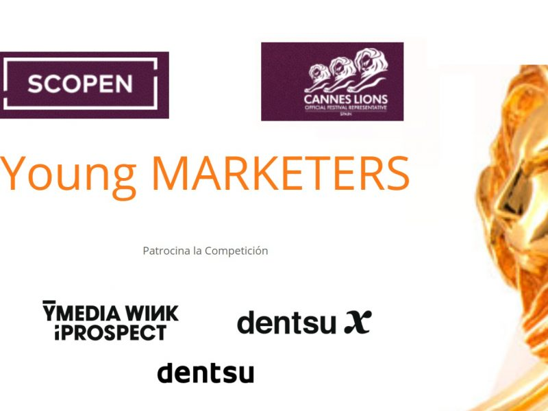 young marketers, 2021, ymedia , iprospect, dentsux, cannes lions, scopen, programapublicidad