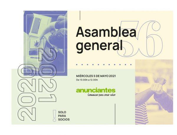 56 , Asamblea General , Asociación , Española ,Anunciantes, aea, programapublicidad