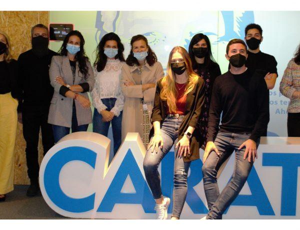 CARAT ,SCOPEN ,presentan ,pareja ganadora ,Young Lions Media ,2020-21 ,Irene Molés ,Germán Gómez, kika ,, programapublicidad