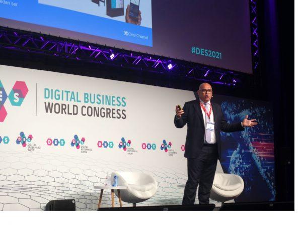 CEO, Jordi Sáez, Digital Enterprise Show. DES, clear Channel, programapublicidad