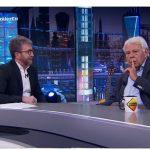 El Hormiguero 3.0, Antena 3, Felipe González, lideró el miércoles con más de 3,4 millones de espectadores y 20,4%