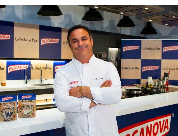 Pescanova, productos del mar, showcooking , Madrid, Chef del Mar, Ángel León, presenta ,lanzamiento ,nuevo producto , La Pasta del Mar ,programapublicidad