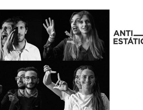 Sara Ramos, Marcos Mariani, Lucre Colombo Flores, Aless Astorga, antiestatico, programapublicidad