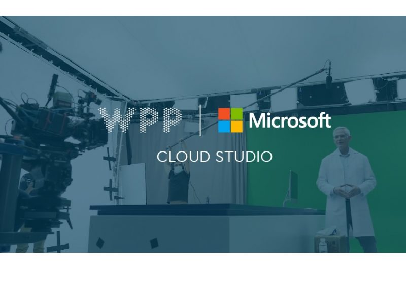 WPP , Microsoft , creatively ,content production ,Cloud Studio ,programapublicidad