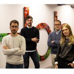 Raúl Gálvez, Aitor Zaro, Paul González y Pedro Zarzalejos a Interbrand
