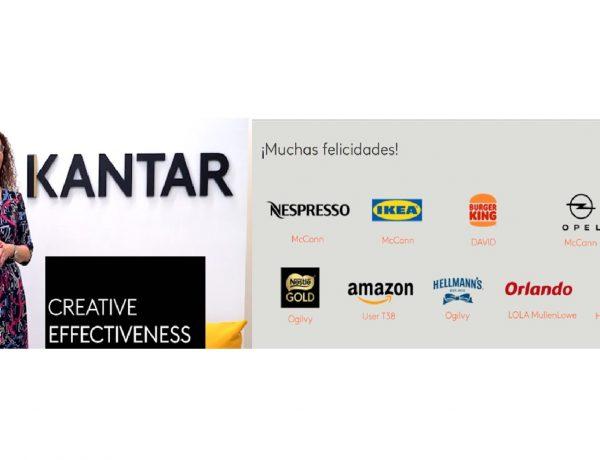 ganadores, Isabel Almarcha, kantar , creative , effectiveness, awards, programapublicidad
