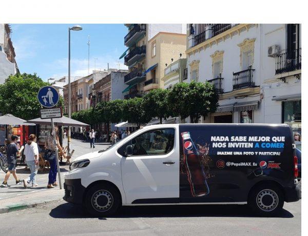 pepsi max,apoya ,hostelería andaluza ,campaña ,marketing, sobre ruedas, 17 Furgonetas ,Pepsi MAX, programapublicidad