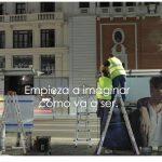 Pulverizadores de agua y aromas de El Corte Inglés en Gran Vía de Madrid