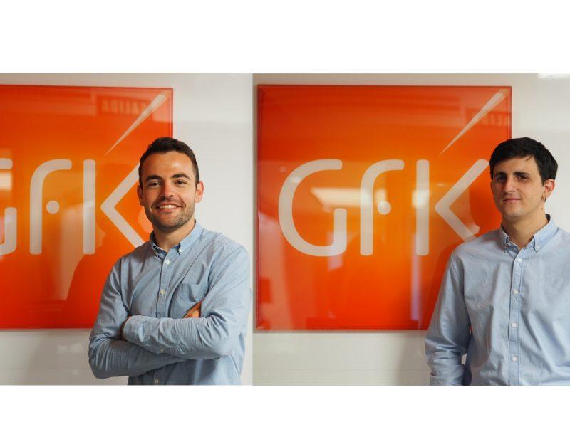 Alejandro Sanz ,Pablo Cuesta, Account Executives , GfK DAM ,Programapublicidad