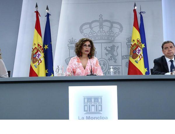 Consejo de Ministros, María Jesús Montero, Teresa Ribera, Luis Planas, 1 junio, 2021, programapublicidad