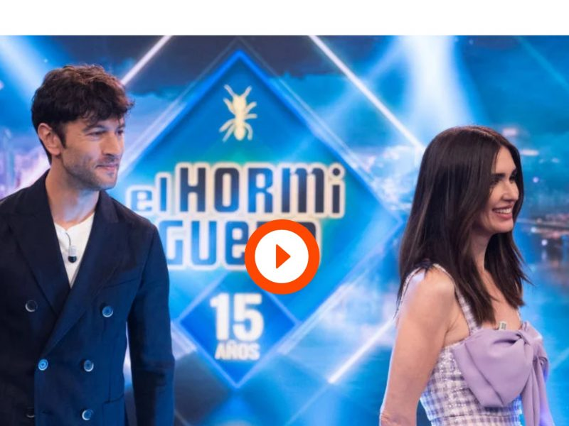 Javier Rey y Paz Vega en 'El Hormiguero 3.0'