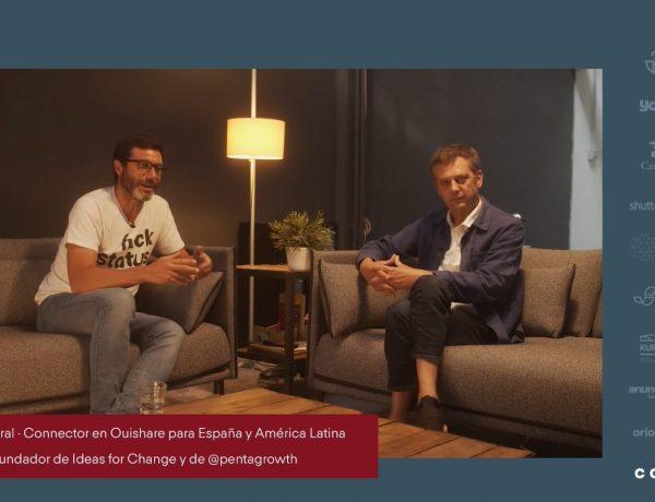 El trabajo que nos espera, Albert Cañigueral, Connector , red Ouishare , América Latina , Javier Creus, Ideas for Change , @pentagrowth, programapublicidad