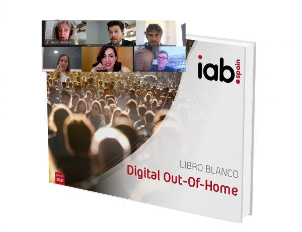 IAB Spain ,presenta ,primer Libro Blanco ,Out Of Home (DOOH), comision digital,iab, programapublicidad