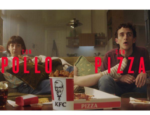 KFC ,saca pizza, campaña, pollo, PS21, programapublicidad