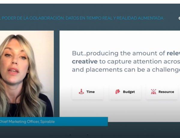 Lauren Evans¸ Directora de marketing ,Spirable ,aldi , #cdec2021, #DIASC2021 ,programapublicidad