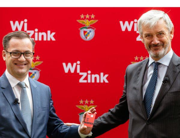 Miguel Ángel Rodríguez Sola, CEO , WiZink, Domingos Soares de Oliveira, CEO ,Sport Lisboa , Benfica , programapublicidad