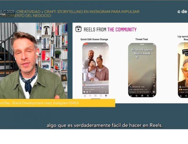 Ray, instagram , Reels , colaborar , creadores , plataforma ,branded content, programapublicidad