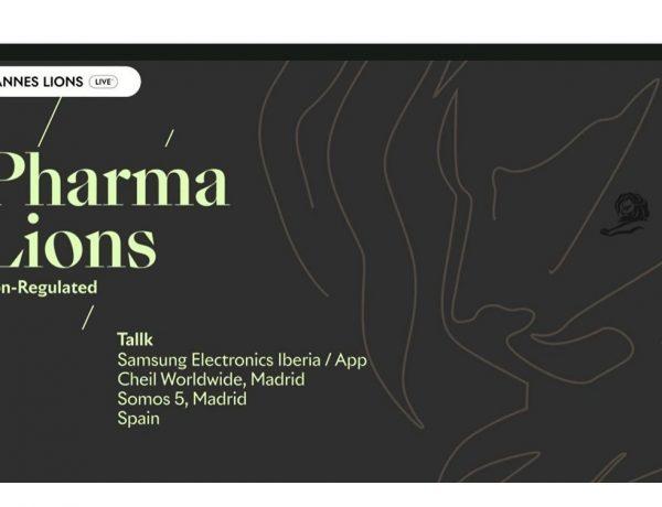 Tallk, samsung, cheil, Oro, Gold, Pharma, programapublicidad