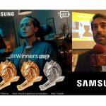 Samsung gana 3 Leones en #CannesLions2021 con Cheil y Tallk: «Aportamos nuestro granito de arena para un mundo mejor».