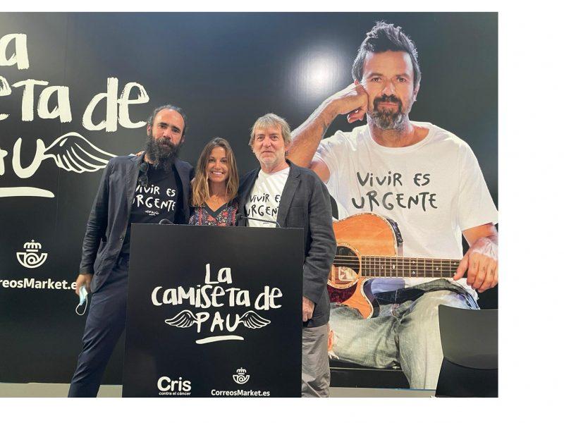 camiseta de Pau, iniciativa , Jorge Martínez ,José María Piera ,help ,programapublicidad
