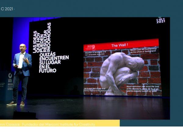 #cdec2021, Giovanni Corazza, El cambio , creatividad, programapublicidad